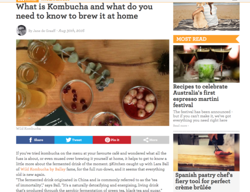 What is Kombucha and what do you need to know to brew it at home? KITCHEN9 NINE.COM